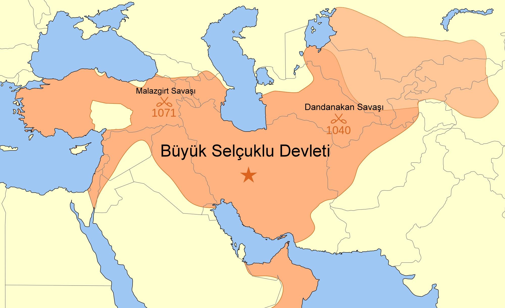BÜYÜK SELÇUKLU DEVLETİ (1038-1157)