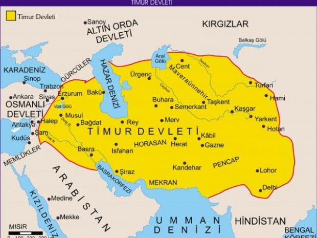 TİMUR İMPARATORLUĞU (1370-1507)