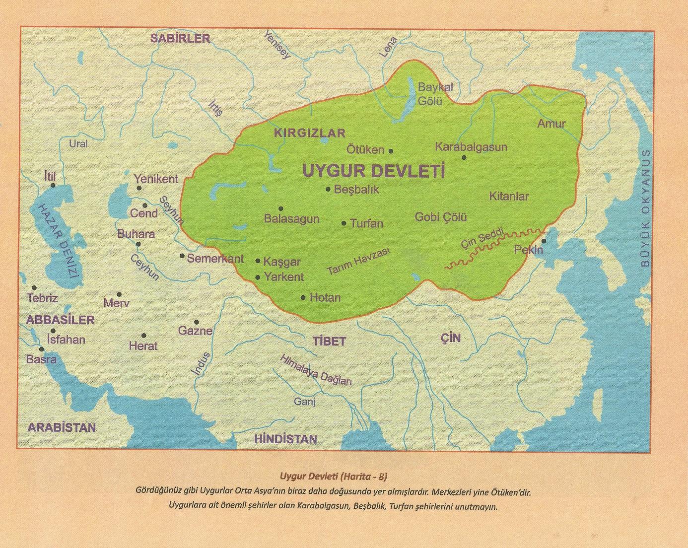 Uygurlar (744-840)